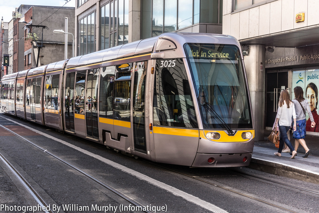 """Luas Tram Stop """"Jervis"""" On Abbey Street by infomatique, on Flickr"""