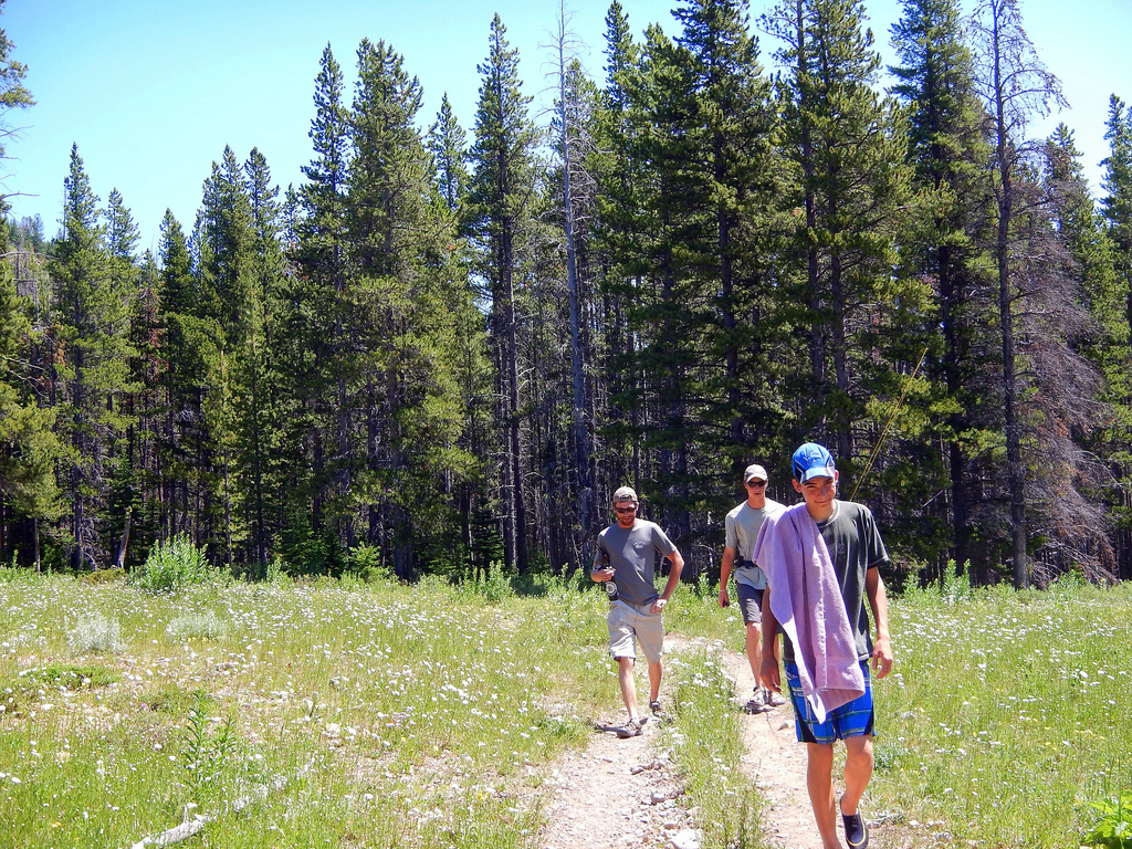 Hiking in the Scapegoat Wilderness - YFM by Forest Service - Northern Region, on Flickr