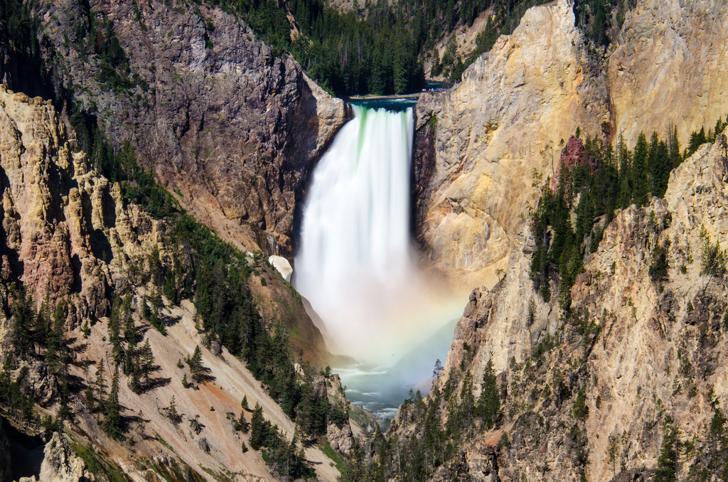 Grand Canyon of Yellowstone waterfall wi by m01229, on Flickr