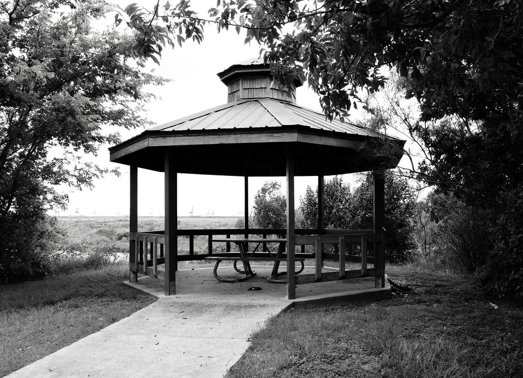 Gazebo, Bayland Park, Baytown, Texas 130 by Patrick Feller, on Flickr