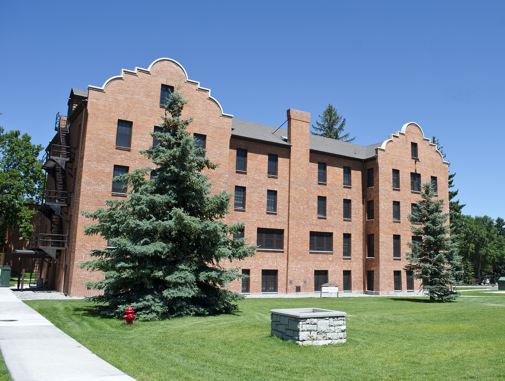 Hamilton Hall - Montana State University by Tim Evanson, on Flickr