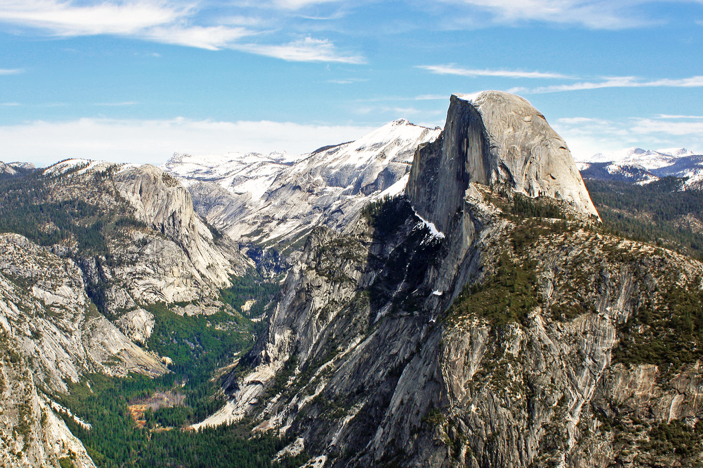 View from Glacier Point, Yosemite, CA by Dimitry B, on Flickr