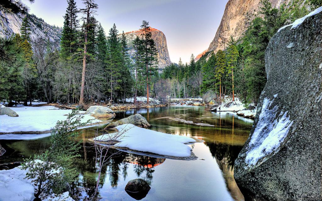 Winter in Yosemite National Park, Califo by juanalbertogarciarivera, on Flickr