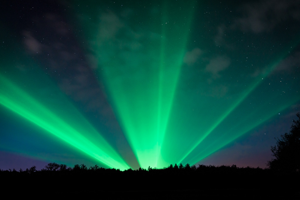Aurora borealis Hunsrück (Fake) by mLu.fotos, on Flickr