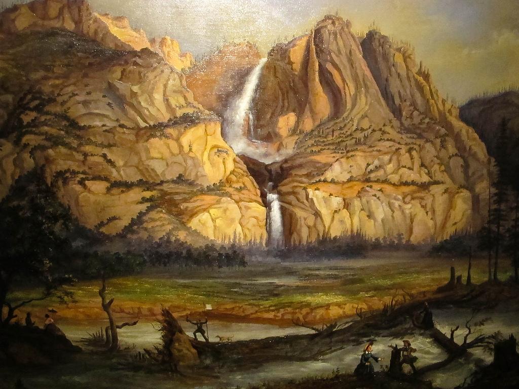Falls, Yosemite, Antoine Claveau, 1858 by Ed Bierman, on Flickr