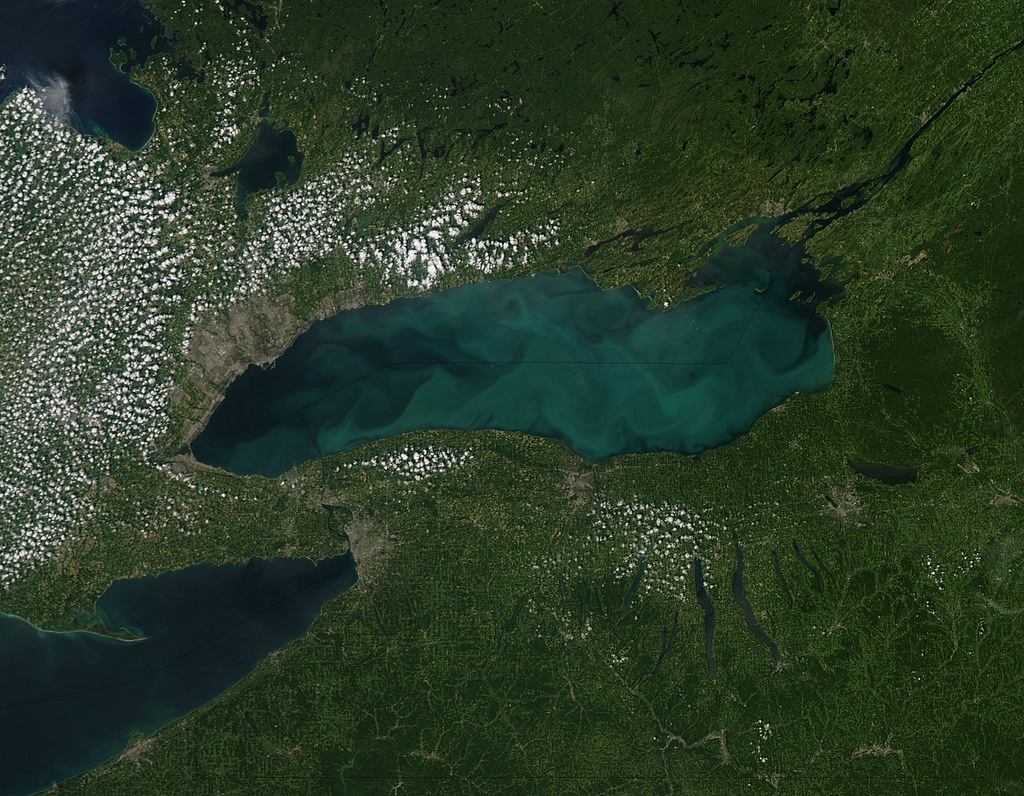 Phytoplankton bloom in Lake Ontario by NASA Goddard Photo and Video, on Flickr