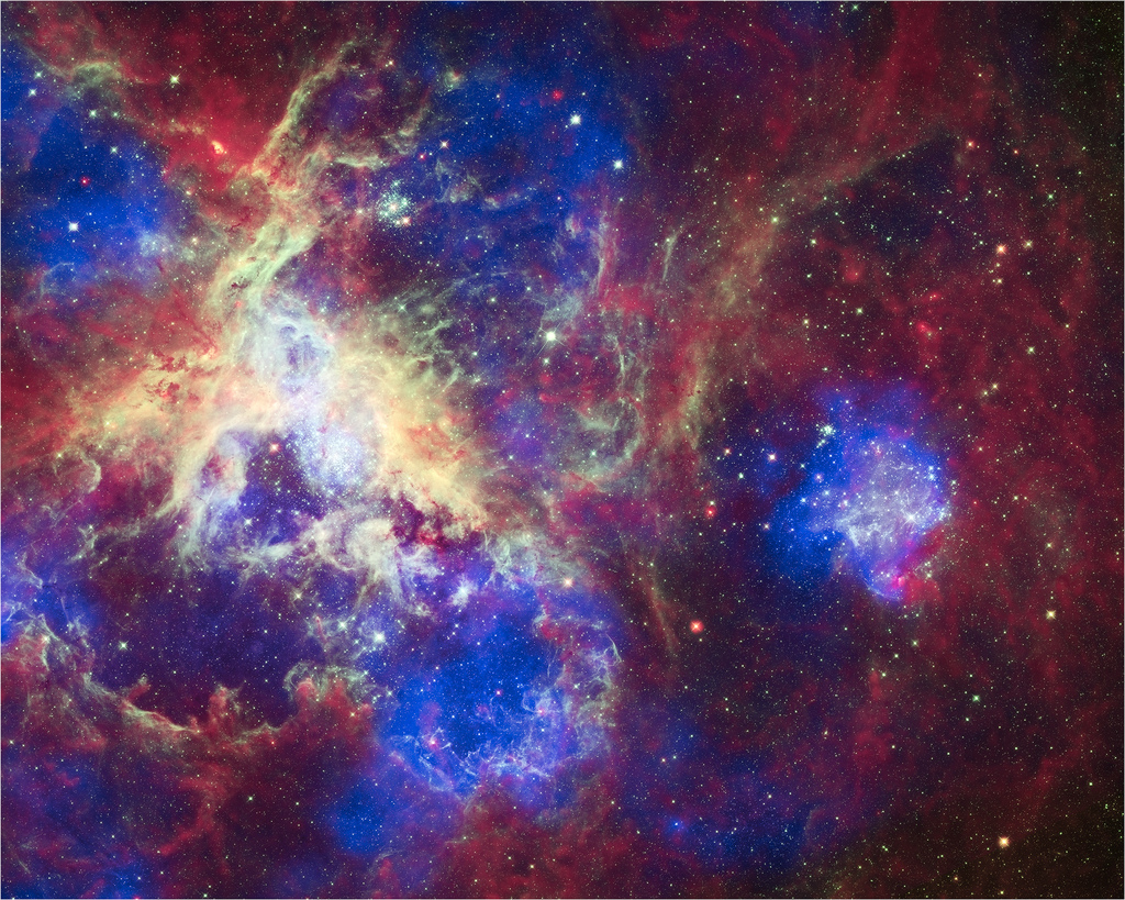 A New View of the Tarantula Nebula by Smithsonian Institution, on Flickr