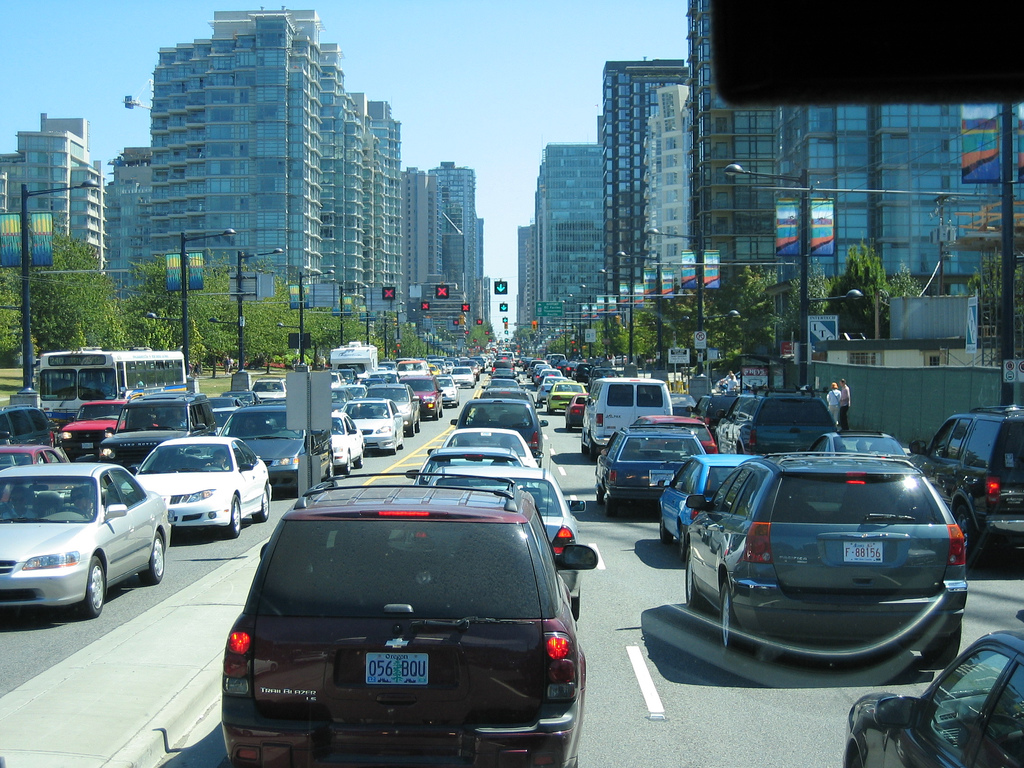 Traffic in Vancouver by mark.woodbury, on Flickr
