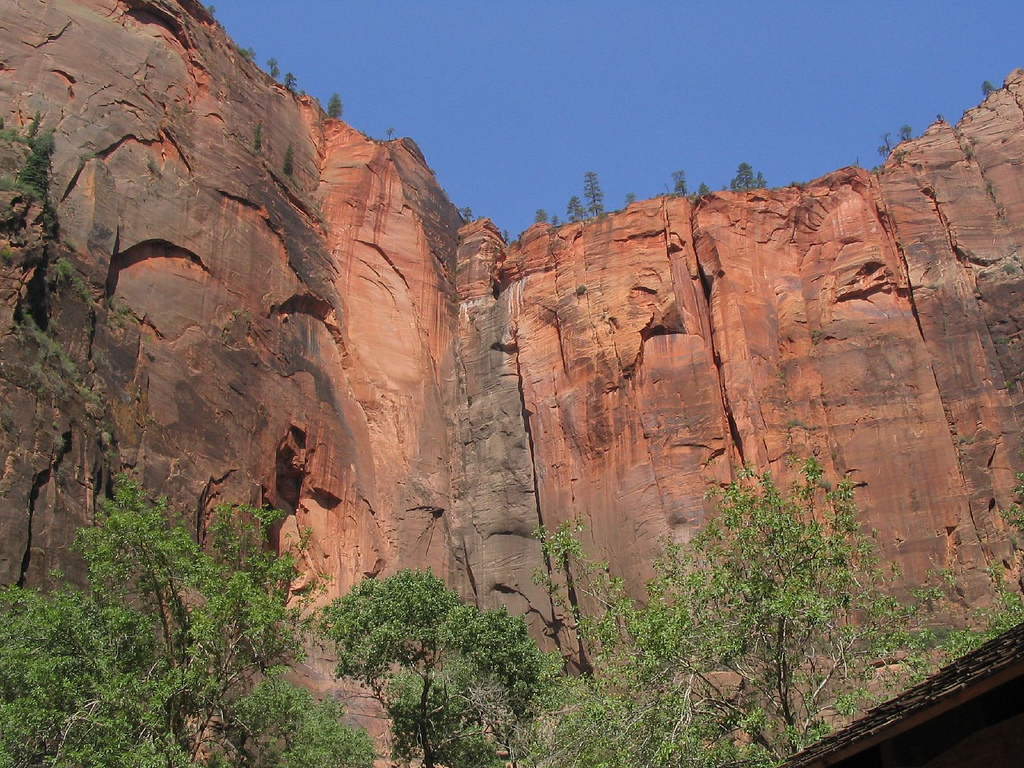 Temple of Sinawava, Zion Canyon, Zion Na by Ken Lund, on Flickr