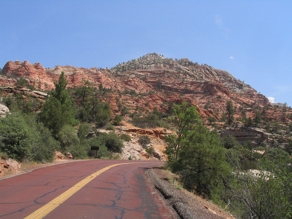 Zion-Mount Carmel Highway, Zion National by Ken Lund, on Flickr