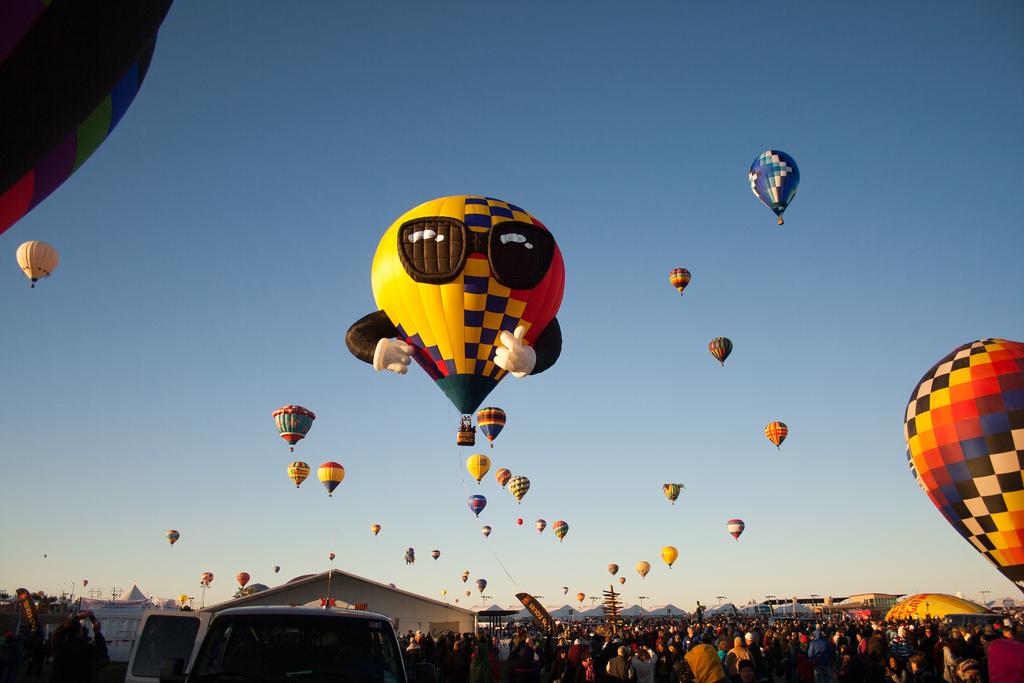 Cool Guy Hot Air Balloon by Garrett Heath, on Flickr