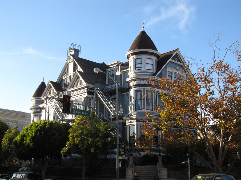 Victorian Mansions of Alamo Square Neigh by Ken Lund, on Flickr