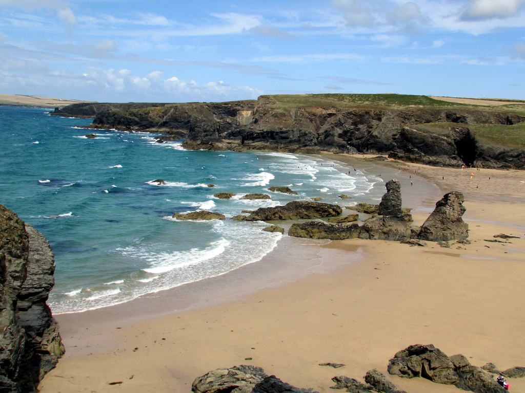 Porthcothan Bay by Reading Tom, on Flickr