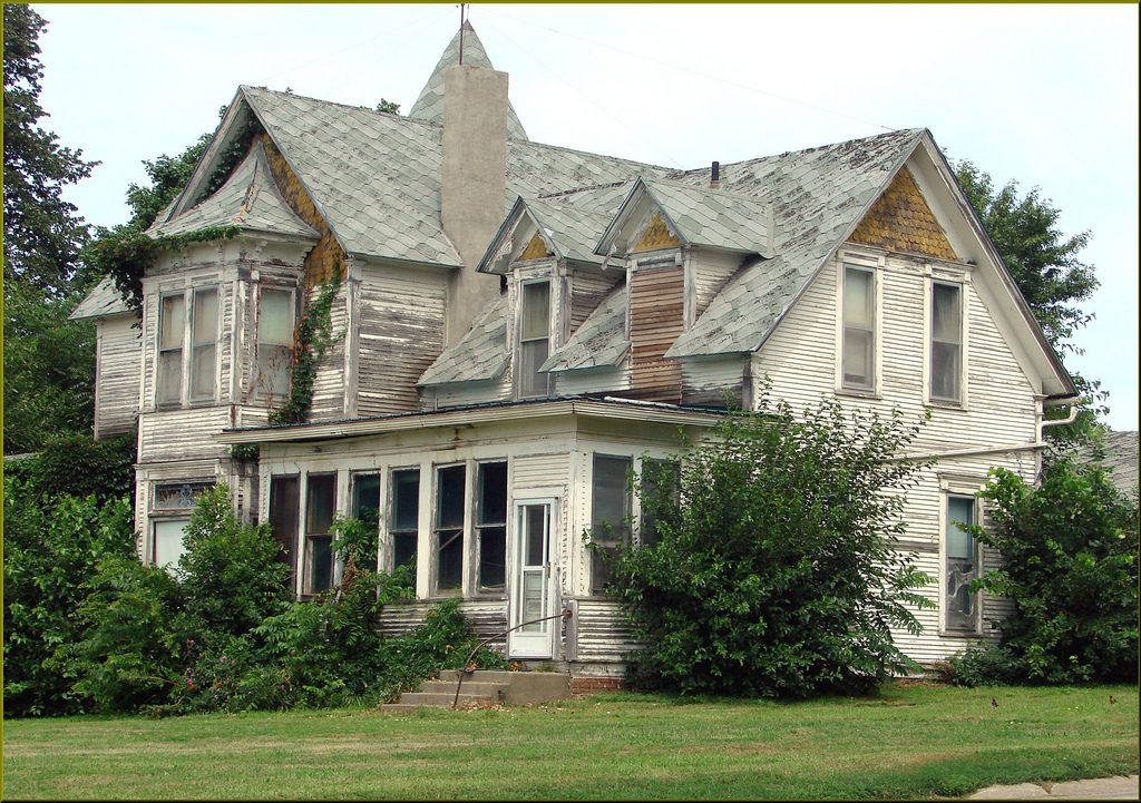 """""""Once a Mansion"""" Ghosts of the Midwest, by inkknife_2000 (8 million views +), on Flickr"""