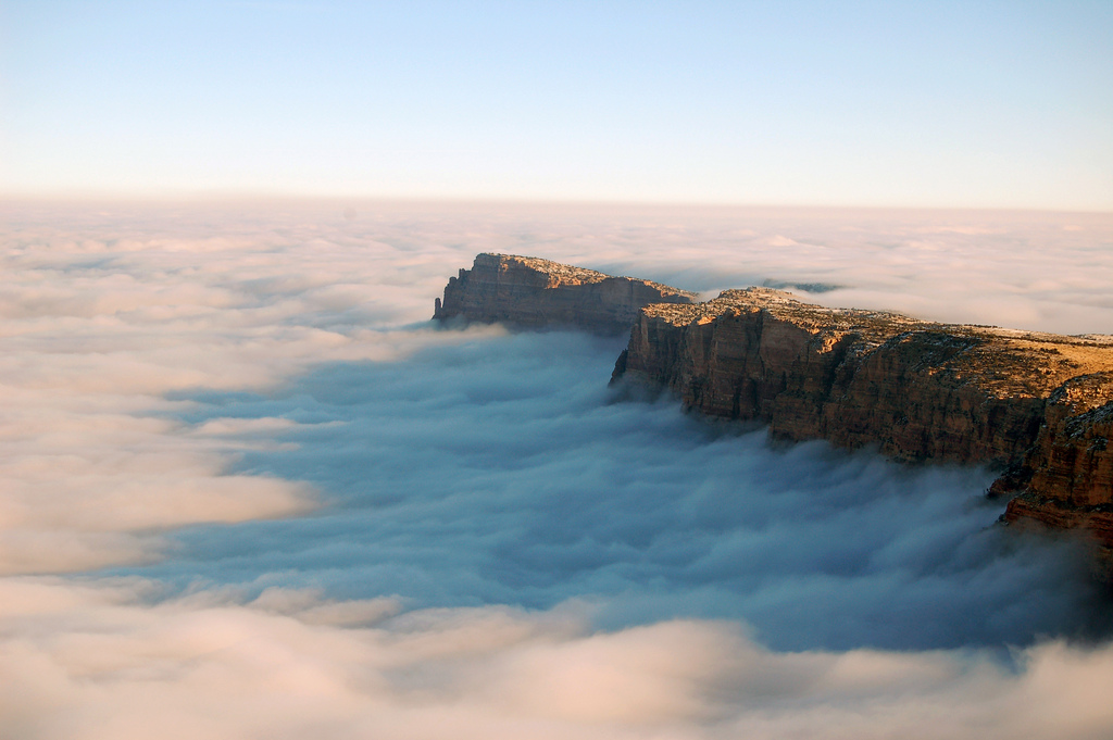 Grand Canyon National Park Cloud Inversi by Grand Canyon NPS, on Flickr