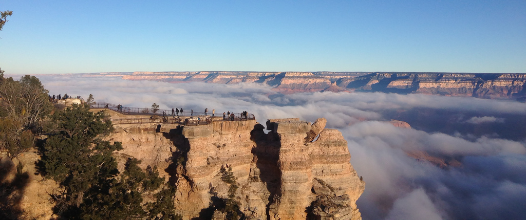 Grand Canyon Inversion 2013 - Mather Poi by Grand Canyon NPS, on Flickr