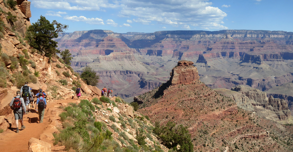 Grand Canyon National Park: Hikers Desce by Grand Canyon NPS, on Flickr