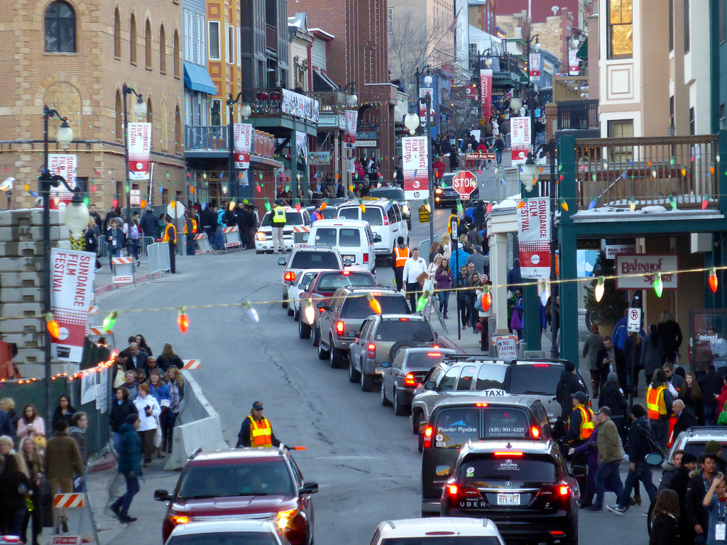 Park City during Sundance Film Festival by Michael R Perry, on Flickr