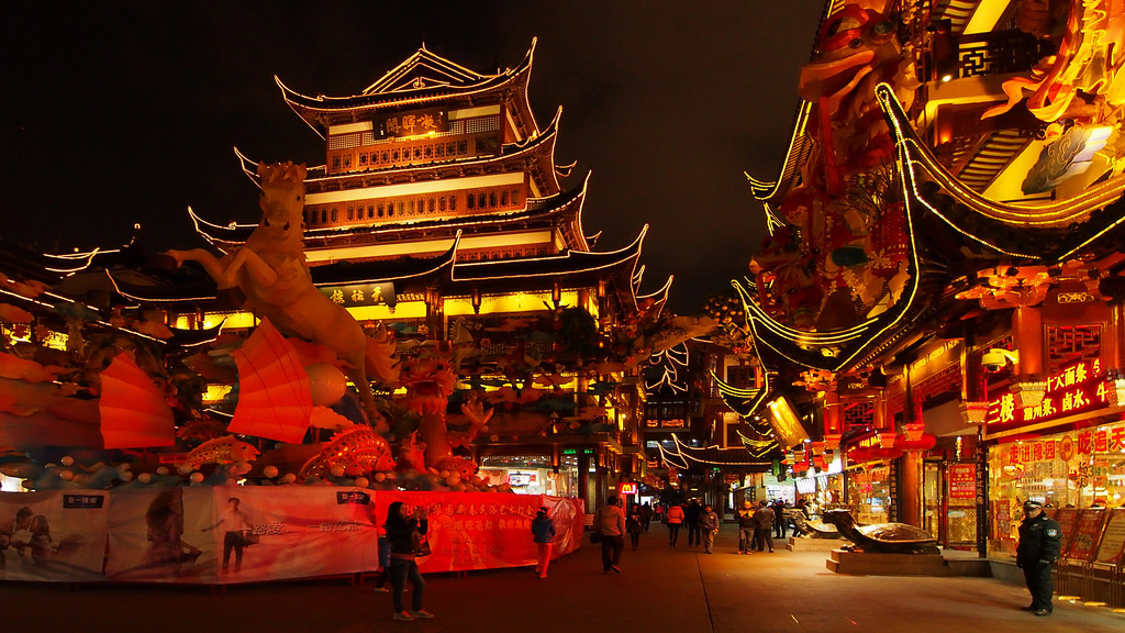 City God Temple at Night by Wilson Hui, on Flickr