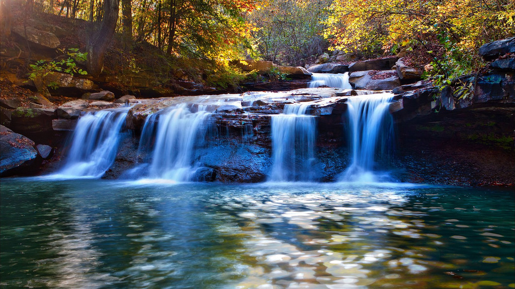 River Waterfall Autumn - Most Beautiful by jin.3444, on Flickr
