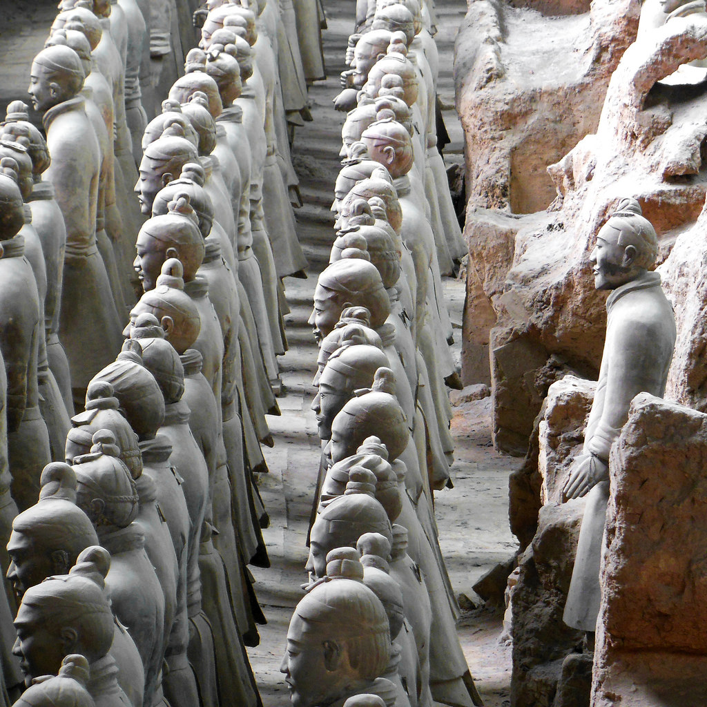 Terracotta Army Warriors, Xi'an, China by Dimitry B, on Flickr