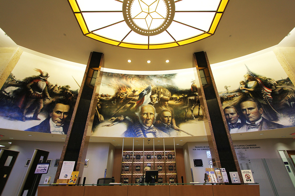 """Mural: """"Texas Moves Toward Statehood"""" by Texas State Library and Archives Commission, on Flickr"""