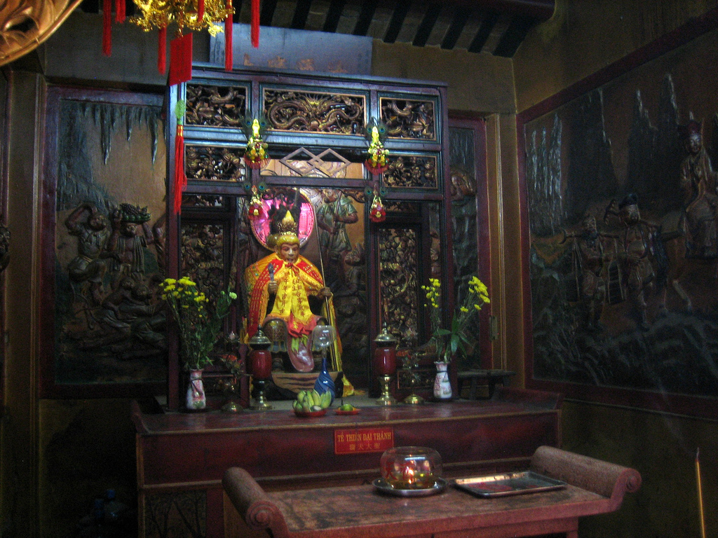 Sun Wukong shrine at Thiên Hậu Temple by Prince Roy, on Flickr