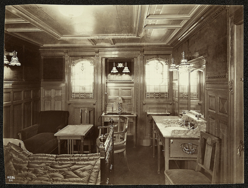Titanic Interior by Public Record Office of Northern Ireland, on Flickr
