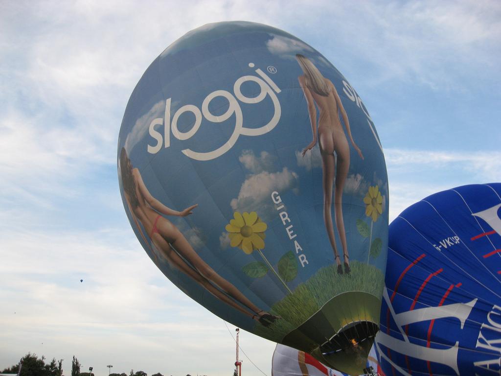 Sloggi underwear hot air balloon by hazelnicholson, on Flickr