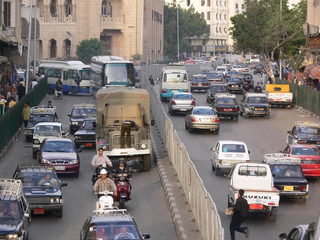 Cairo traffic - P1020493 by Lars Plougmann, on Flickr