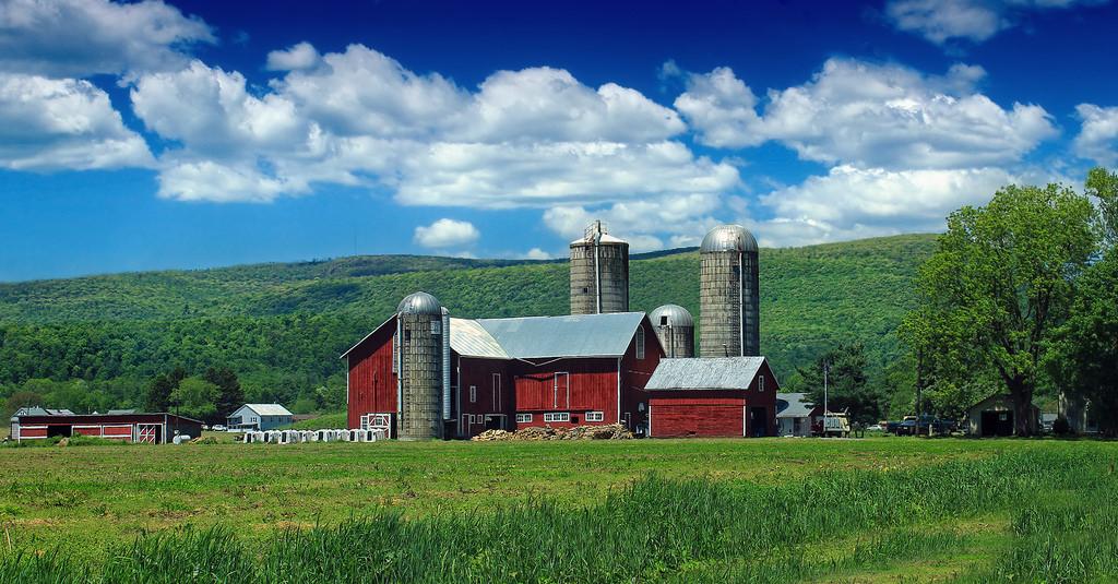Pine Creek Valley Farm by Nicholas_T, on Flickr