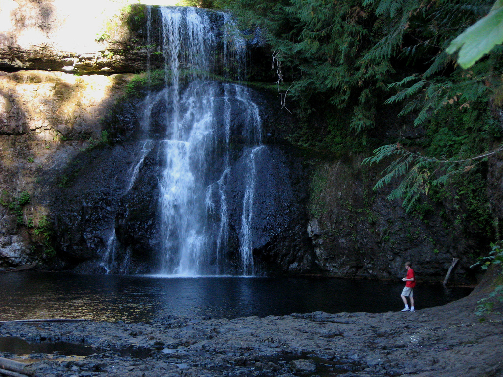 north falls gazing, Silver falls State P by moonjazz, on Flickr