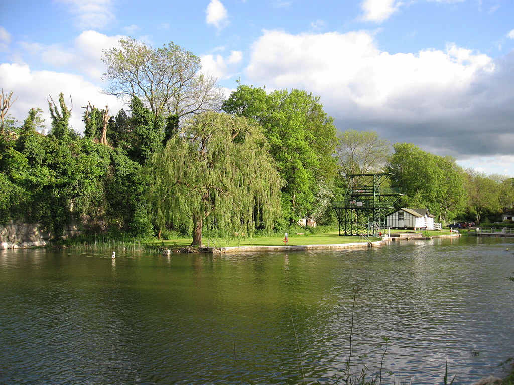 Henleaze Lake, Bristol by nicksarebi, on Flickr