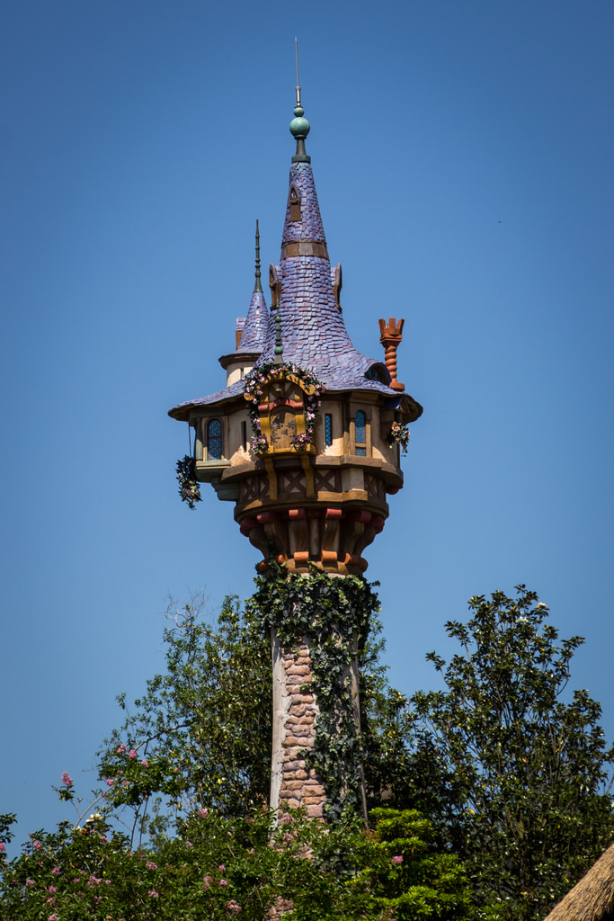 Rapunzel's Tower by HarshLight, on Flickr