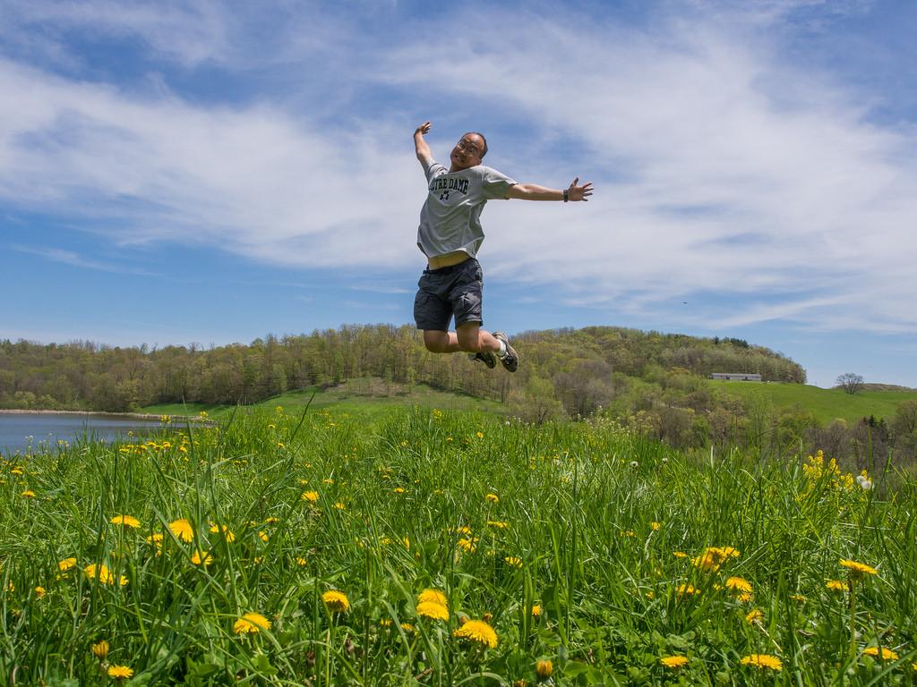 Jumping for Joy in Wisconsin by eekim, on Flickr