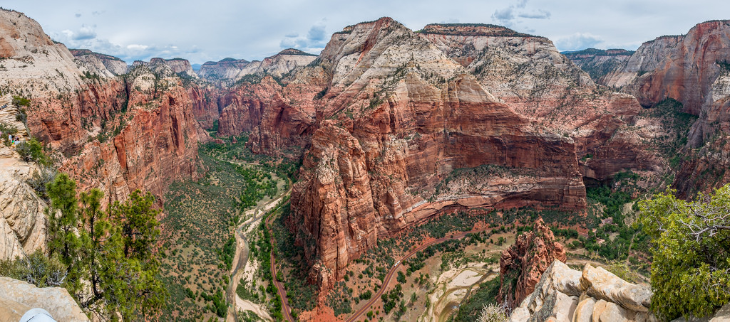 Angel's Landing Panorama by timsackton, on Flickr