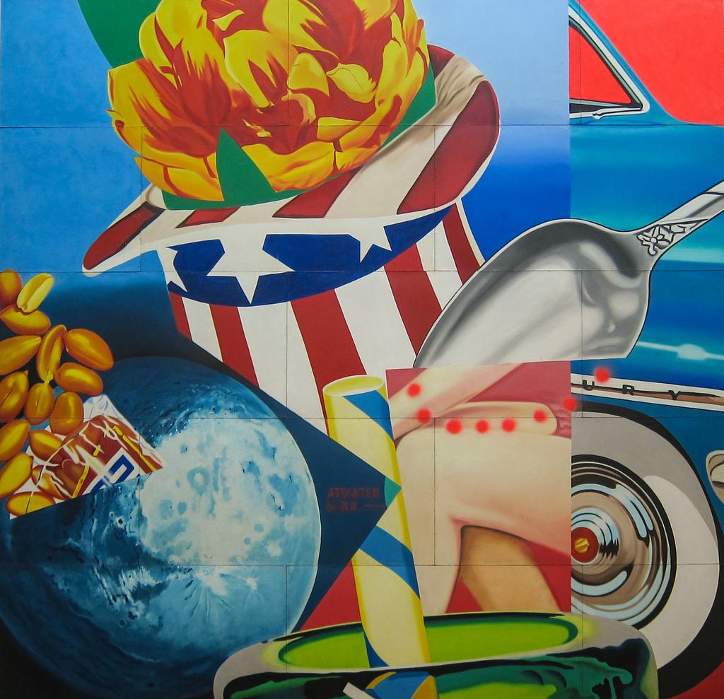 James Rosenquist, World's Fair Mural, 19 by Sharon Mollerus, on Flickr