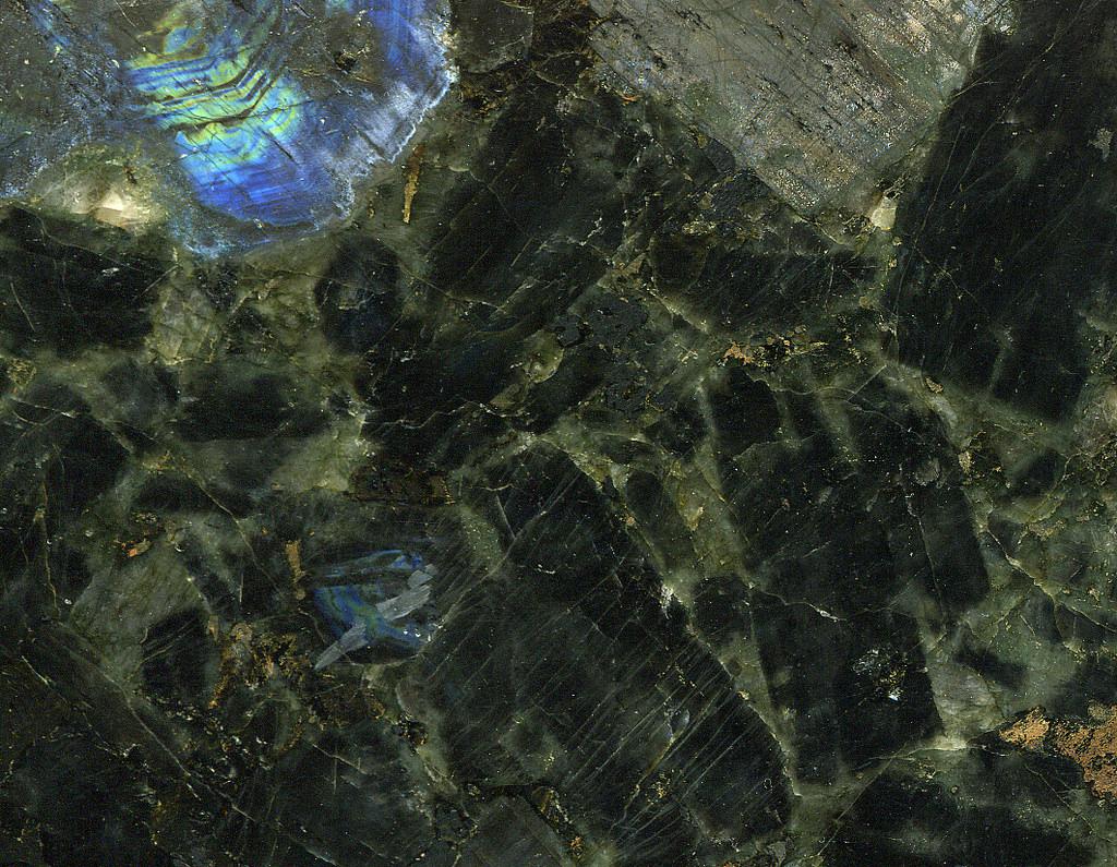 Volga Blue Granite (anorthosite, Volodar by James St. John, on Flickr
