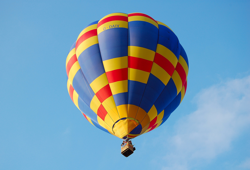 Hot Air Balloon by HiggySTFC, on Flickr
