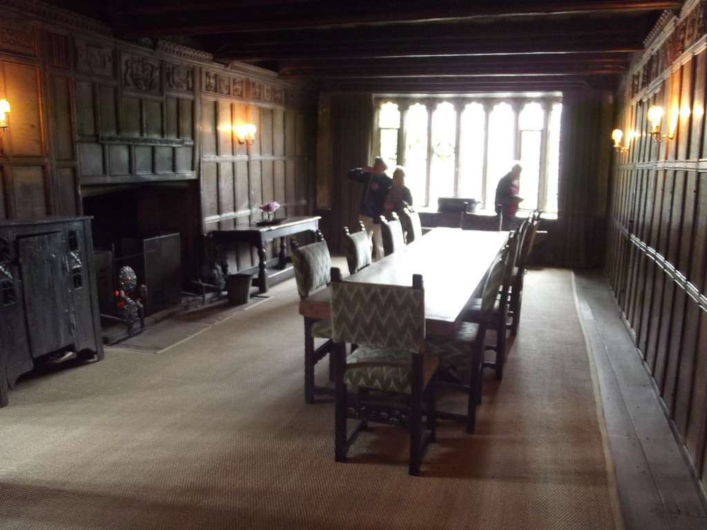 Inside Haddon Hall - The Parlour by ell brown, on Flickr