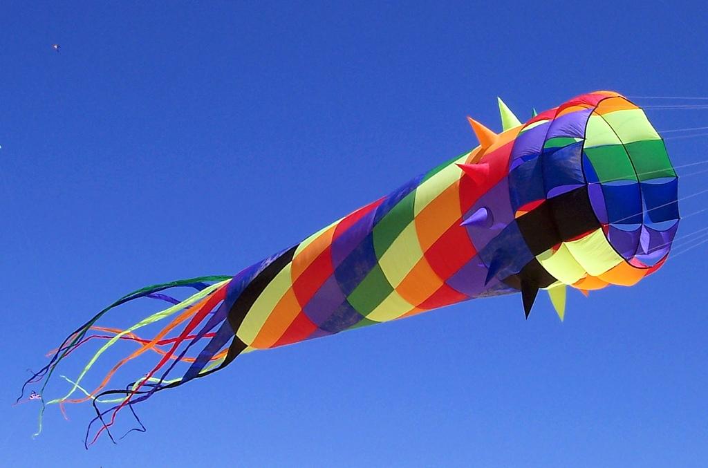 Spinny, Spiney Kite by yerffej9, on Flickr