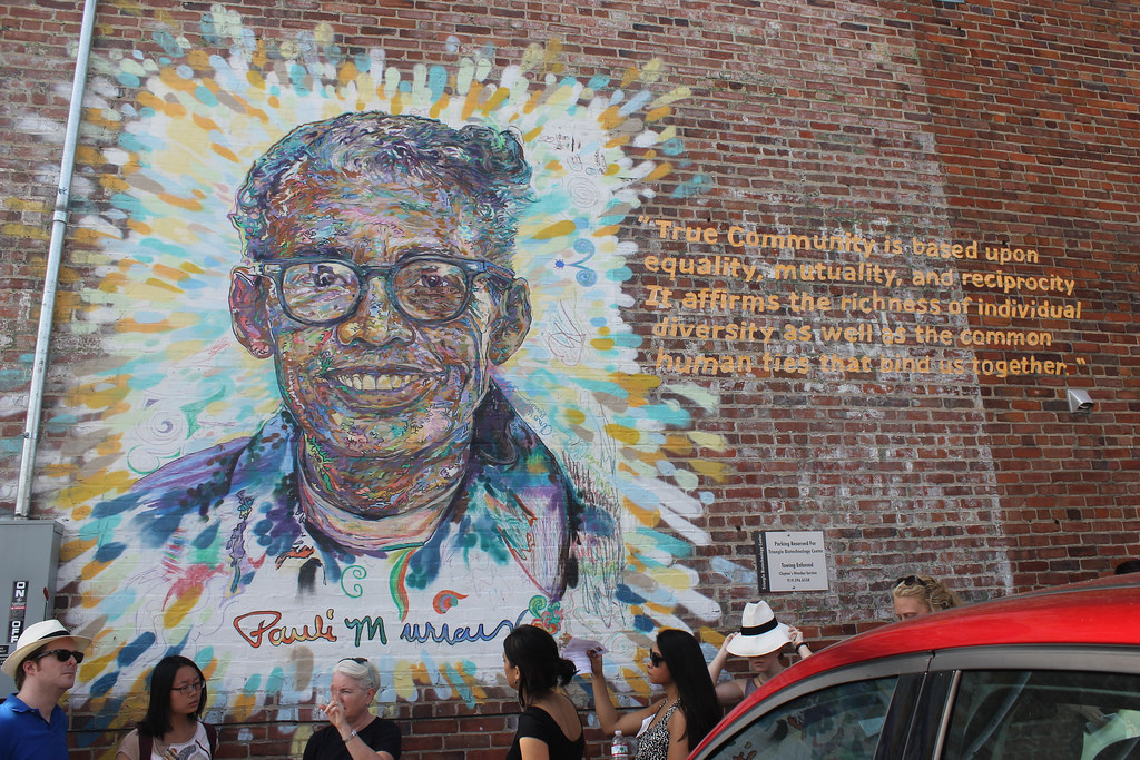 Pauli Murray mural. by ironypoisoning, on Flickr