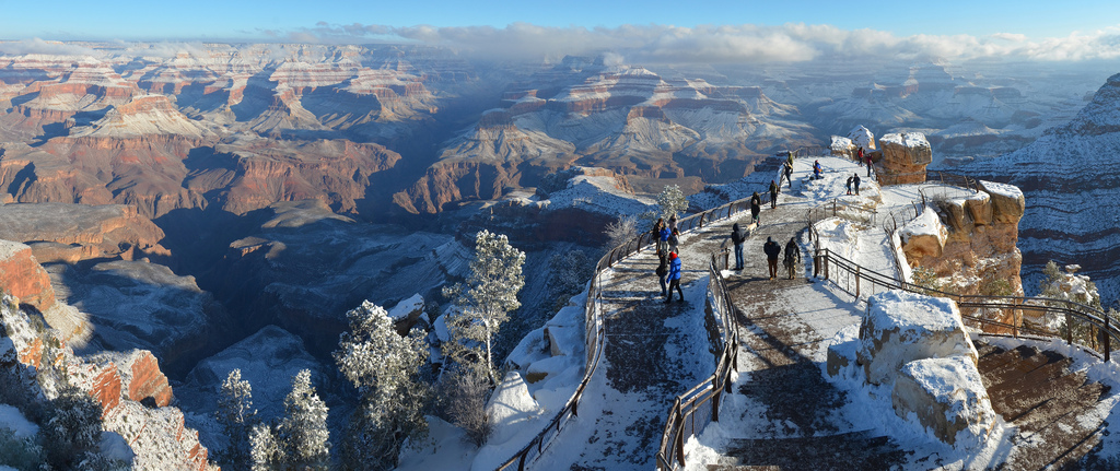 New Years Storm Clearing at Grand Canyon by Grand Canyon NPS, on Flickr