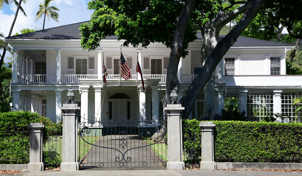 Washington Place, The Hawaii Governor's by jimbowen0306, on Flickr
