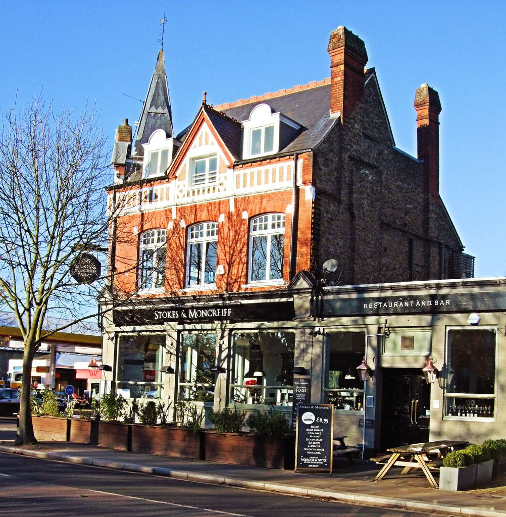The Stokes & Moncrieff Pub In Twickenham by Jim Linwood, on Flickr