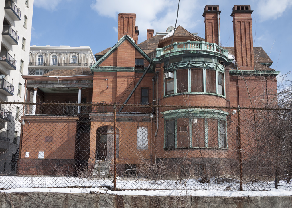 Rear, Captain Isaac Emerson Mansion by Baltimore Heritage, on Flickr