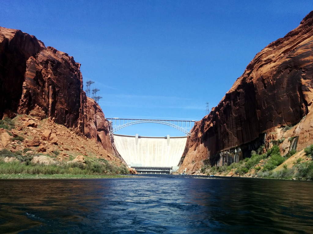 Glen Canyon dam, Colorado River Discover by gruntzooki, on Flickr