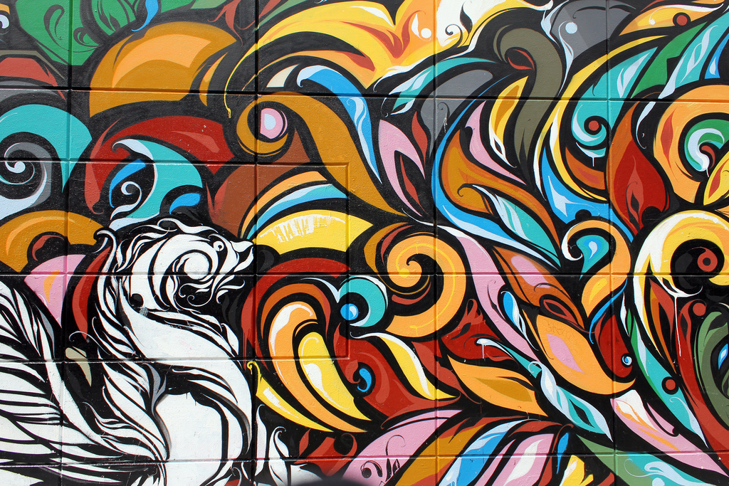 Mural painting in Mission, SF by Carlos ZGZ, on Flickr