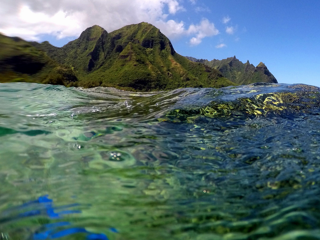 Tunnels Beach Snorkeling in Kauai by SNORKELINGDIVES.COM, on Flickr