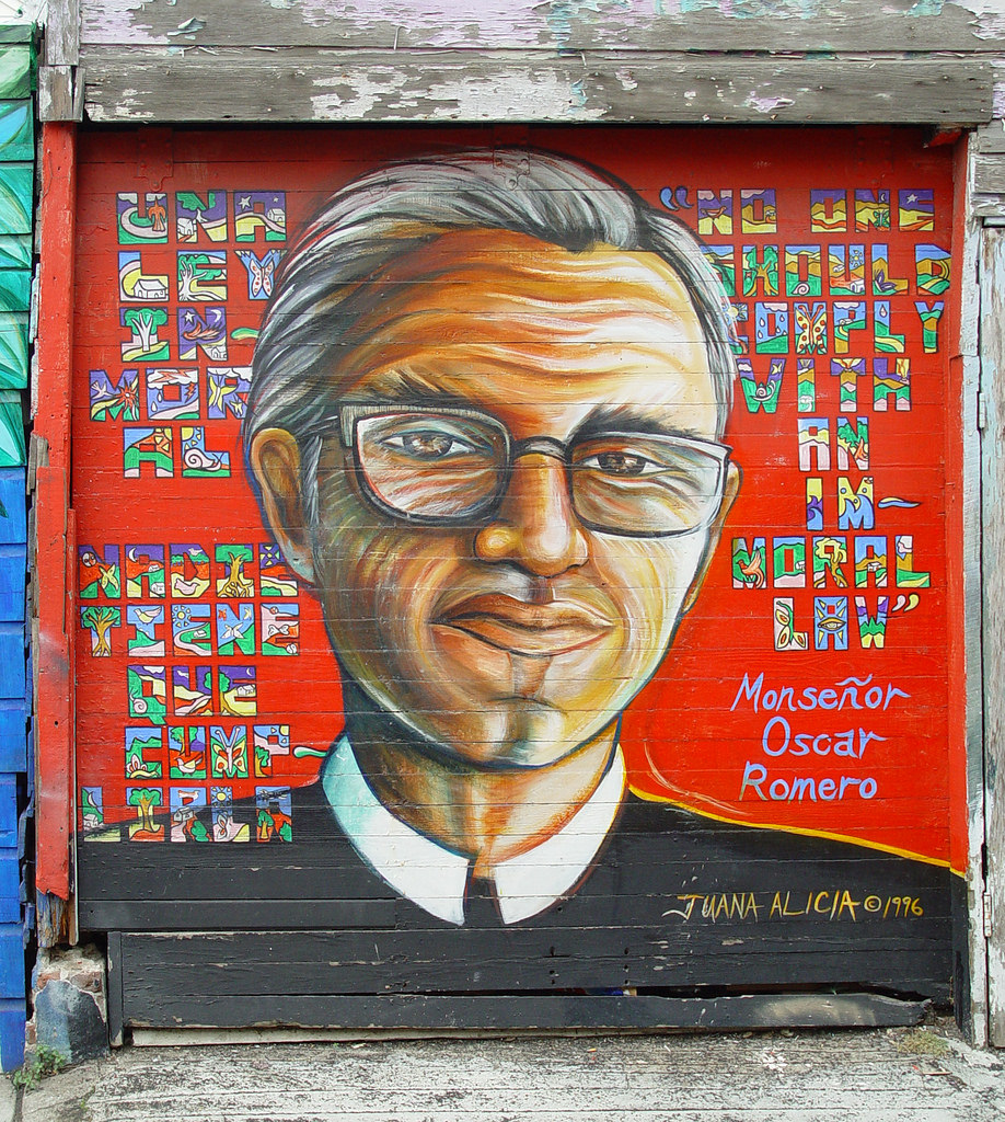Mural: Monseñor Oscar Romero by Franco Folini, on Flickr